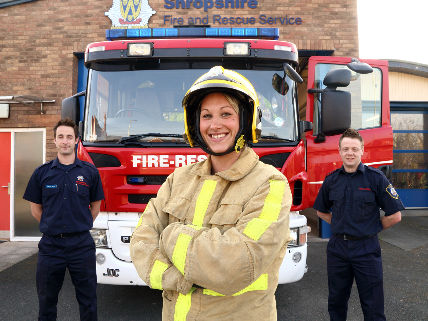 Women Who Want To Be Firefighters | Shropshire Fire and ...