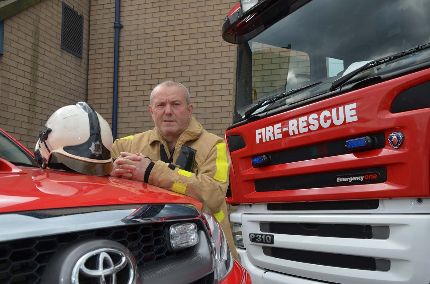 John Taylor retires from Ludlow Fire Station