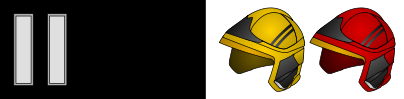 Crew Manager insignia and helmet markings (x2 black 12.5mm bands)