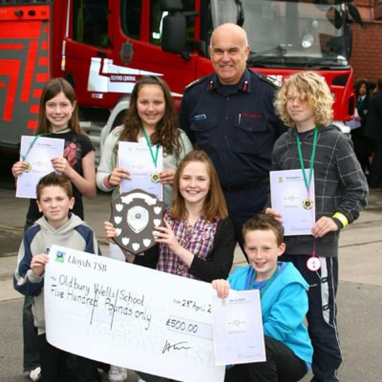 County Fire Quiz winners | Shropshire Fire and Rescue Service