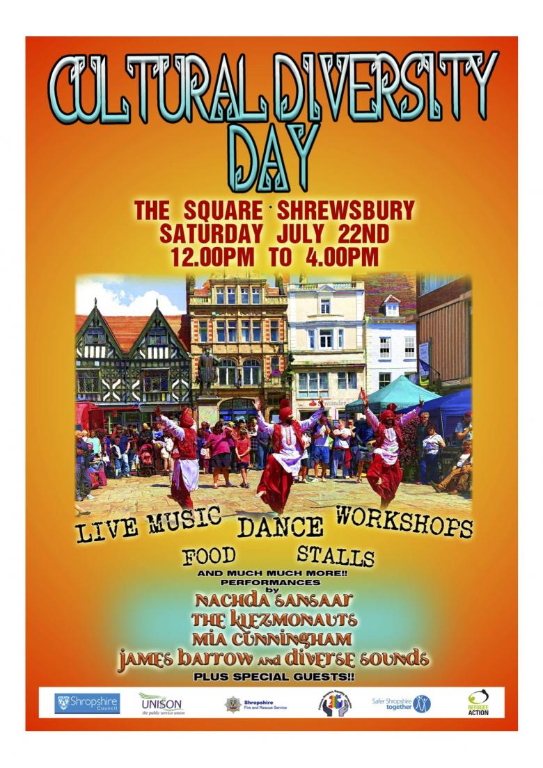 annual Cultural Diversity Day in Shrewsbury