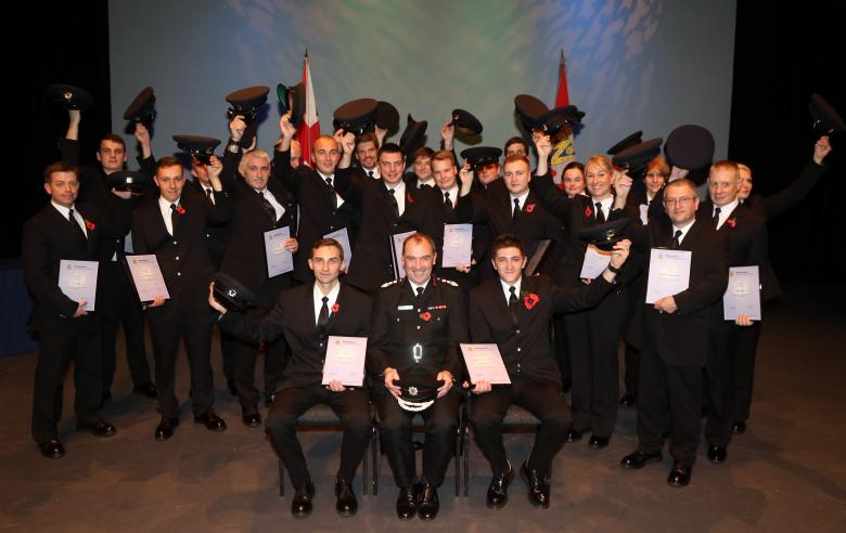 Hats off to the new firefighter recruits at Shropshire Fire and Rescue Service