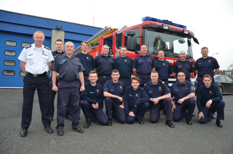 Ludlow's Watch Manager Retires After 38 Year Firefighting